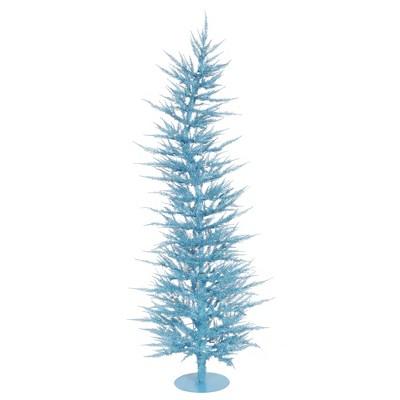Vickerman Sky Blue Laser Artificial Christmas Tree