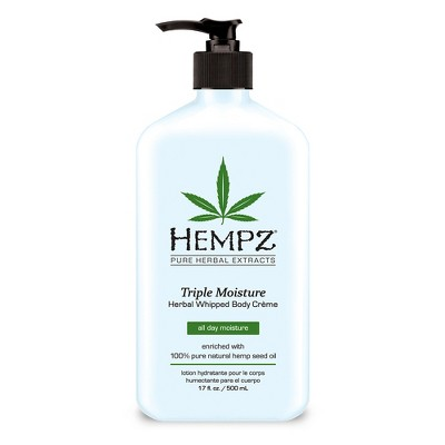 Body Lotions: Hempz Triple Moisture Whipped Body Crème