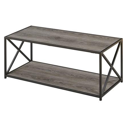 Tucson Coffee Table Weathered Gray Johar Furniture