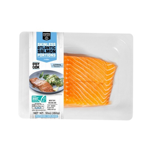 Marine Harvest Fresh Twin Skinless Salmon - 2pk/10oz - image 1 of 1