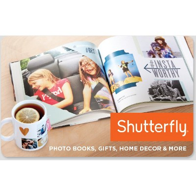 Shutterfly $25 (Email Delivery)