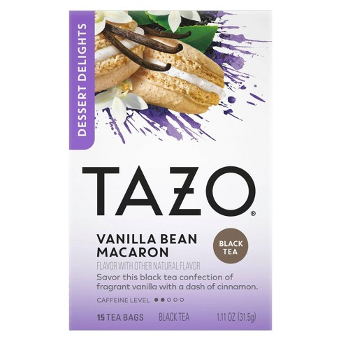 Tazo Vanilla Bean Macaron Dessert Delights Tea Bags - 15ct - image 1 of 4