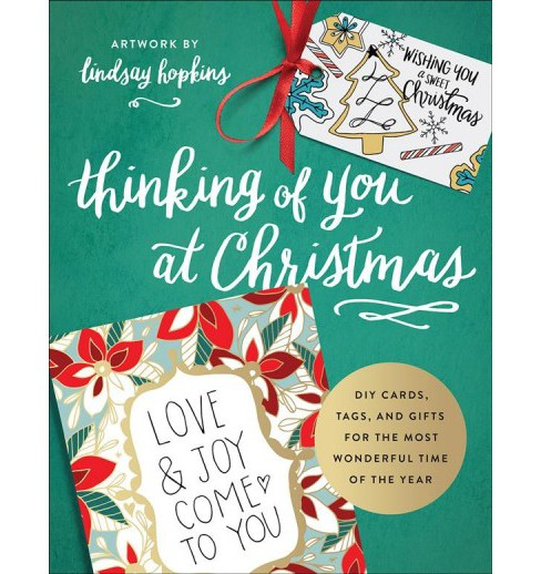 Thinking of You at Christmas (Paperback) (Lindsay Hopkins) - image 1 of 1