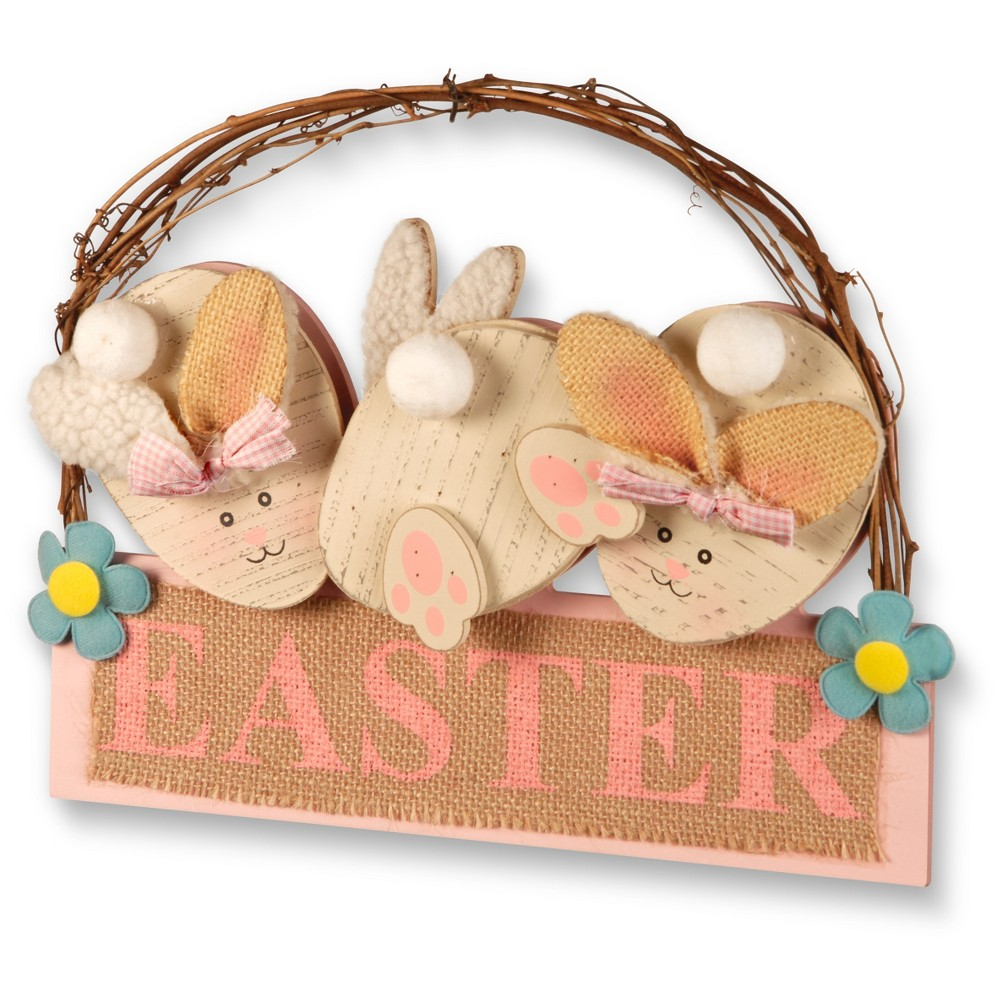 "Image of ""12"""" Easter Decoration - National Tree Company, Beige Pink"""