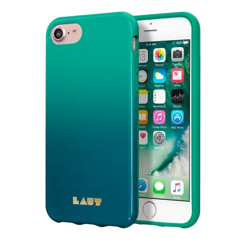 best sneakers 85179 0586f LAUT iPhone 8 Plus/7 Plus/6 Plus Case Huex - Fade Teal