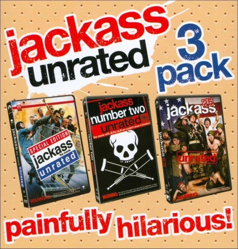 Jackass Collection [WS] [Unrated] [3 Discs] - image 1 of 1