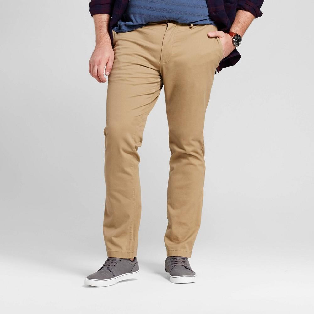 Men 39 S Big 38 Tall Slim Fit Hennepin Chino Pants Goodfellow 38 Co 8482 Sculptural Tan 46x30