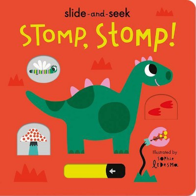 Stomp, Stomp! - by Isabel Otter (Board Book)