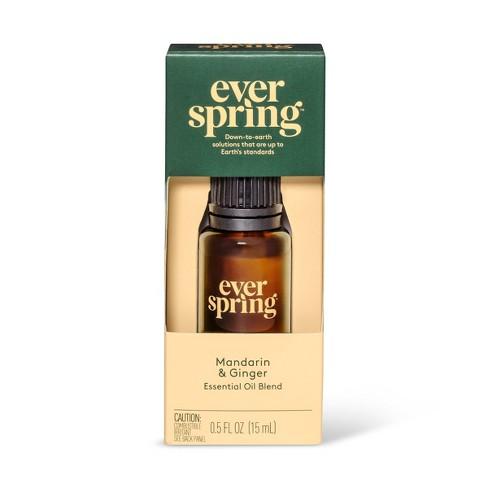 Mandarin & Ginger Essential Oil Blend - 0.5 fl oz - Everspring™ - image 1 of 3