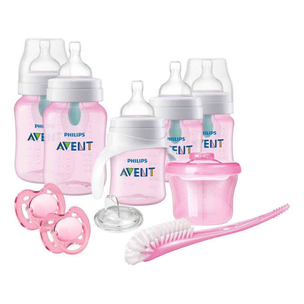 Image of Philips Avent Baby Bottle Gift Set - Pink
