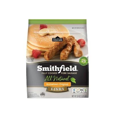 Smithfield Hometown Original Fully Cooked Frozen Pork Sausage Links  - 20oz