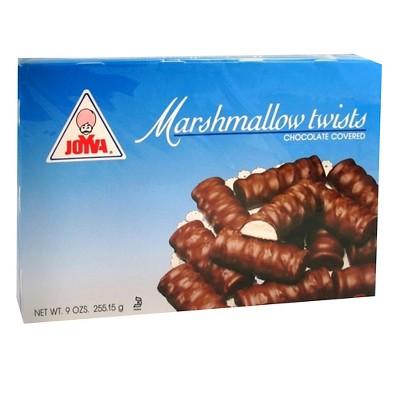Joyva Chocolate Covered Marshmallow Twists 9oz