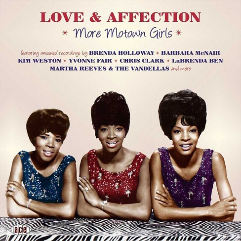 Various - Love & affection:More motown girls (CD) - image 1 of 1