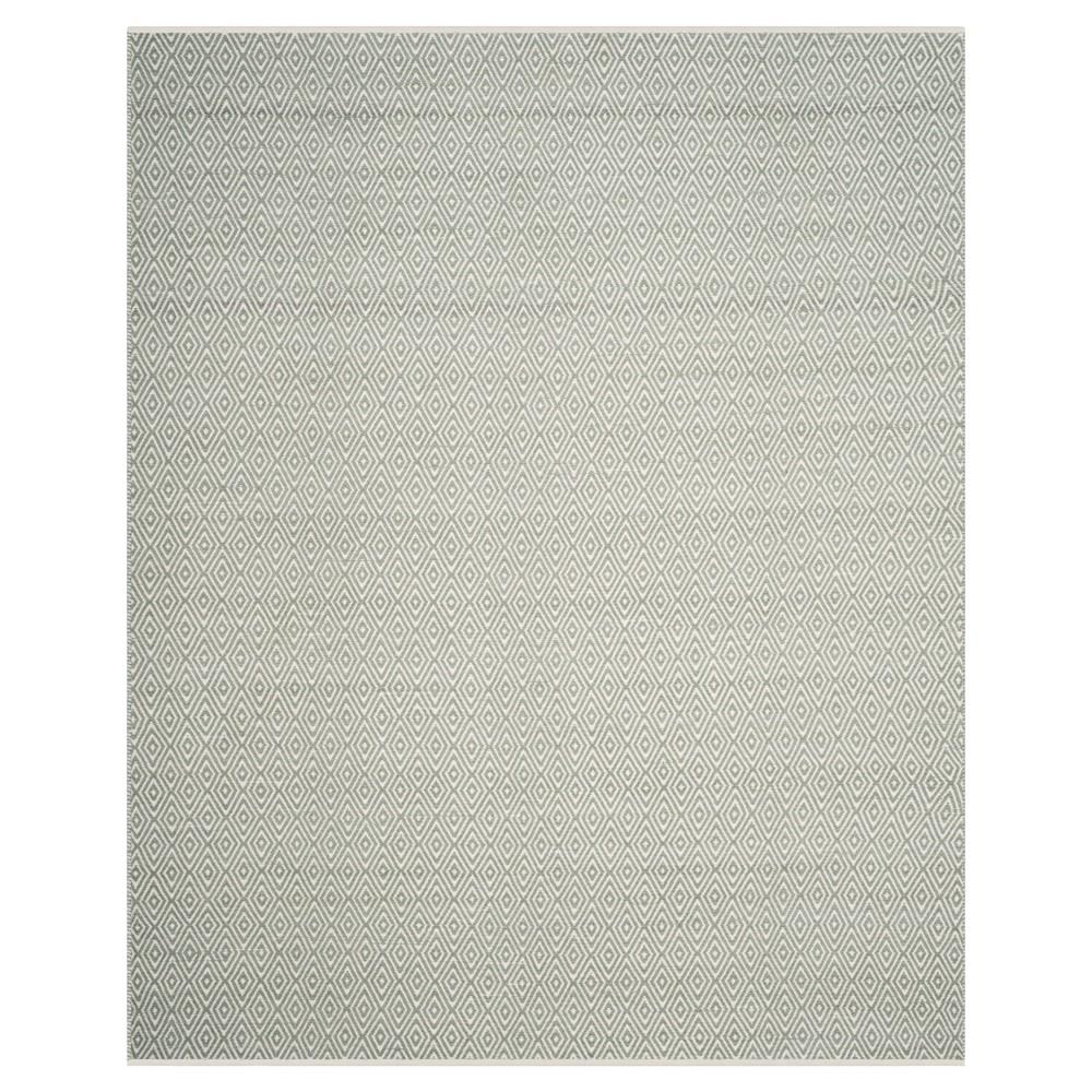 Gray Abstract Tufted Area Rug - (9'X12') - Safavieh