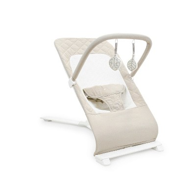 Baby Delight Go with Me Alpine Deluxe Portable Bouncer - Organic Oat