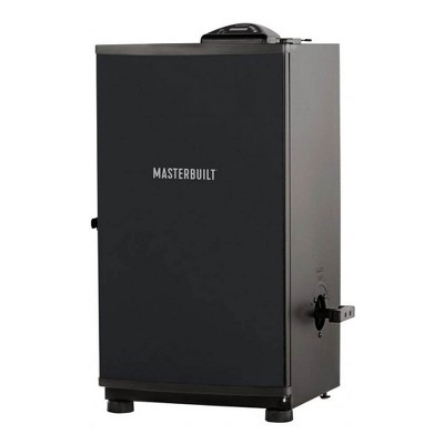 "Masterbuilt Outdoor Barbecue 30"" Digital Electric BBQ Meat Smoker Grill, Black"