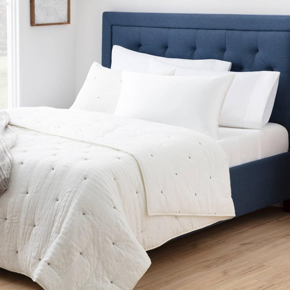Standard Silk Pillowcase White Brookside