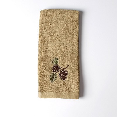 """Saturday Knight Ltd Pinehaven High Quality Stylish Easily Fit & Ultra-Durable Everyday Use Hand Towel 16x25"""" - Wheat"""