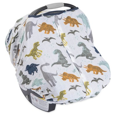 Little Unicorn Dino Friends Car Seat Canopy