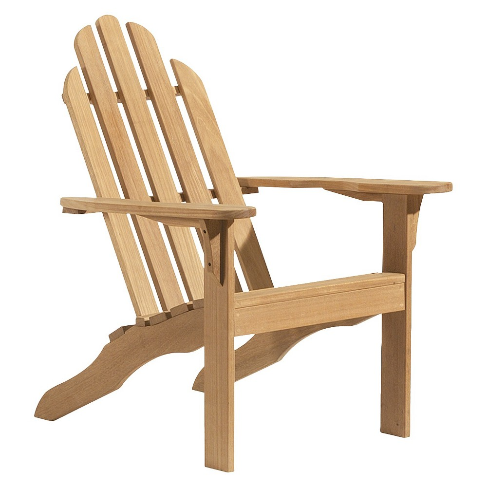 Oxford Garden Adirondack Chair - Natural Shorea