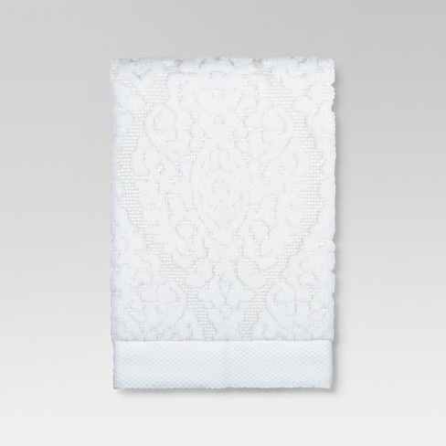 Ogee Towel White - Threshold™ - image 1 of 3
