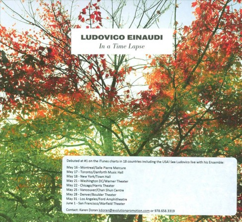 Ludovico einaudi - Ieinaudi:In a time lapse (CD) - image 1 of 1