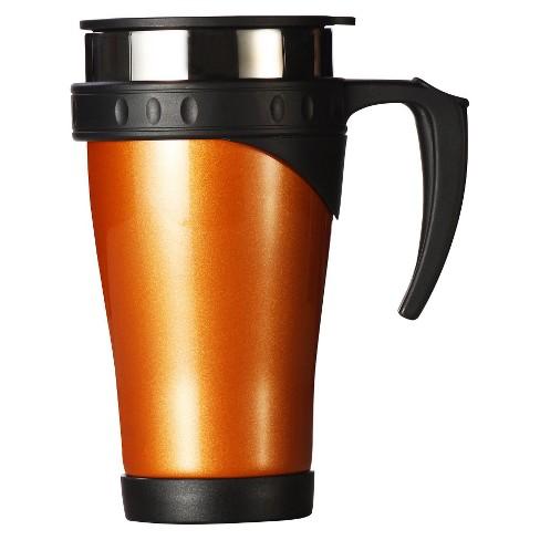 AKTive Lifestyle Timolino Thermal 16oz Travel Mug - Citrus Orange - image 1 of 1