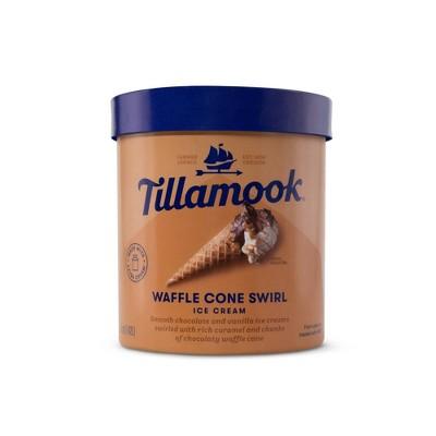 Tillamook Waffle Cone Swirl Ice Cream - 48oz
