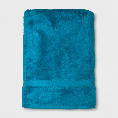 Soft Solid Bath Sheet Turquoise - Opalhouse™