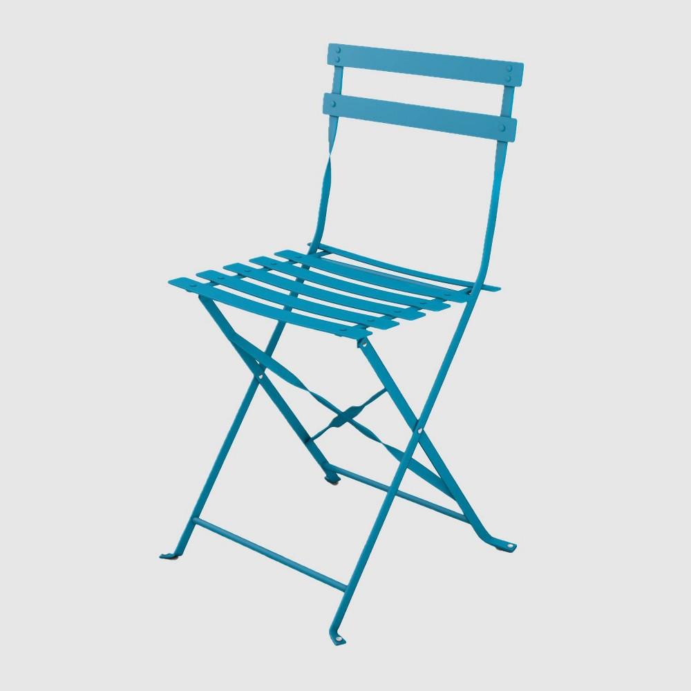 Café Indoor/Outdoor Chairs - Capri Breeze (Set of 2) - Jamesdar