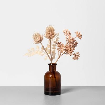 "9"" Faux Bleached Thistle & Sedum Arrangement - Hearth & Hand™ with Magnolia"