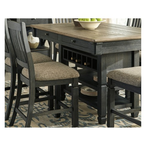 Tyler Creek Dining Room Counter Table Brown Black Signature Design By Ashley Target