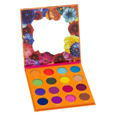 Color Story Pressed Pigment Eyeshadow Palette - Bright Blooms - 0.32oz