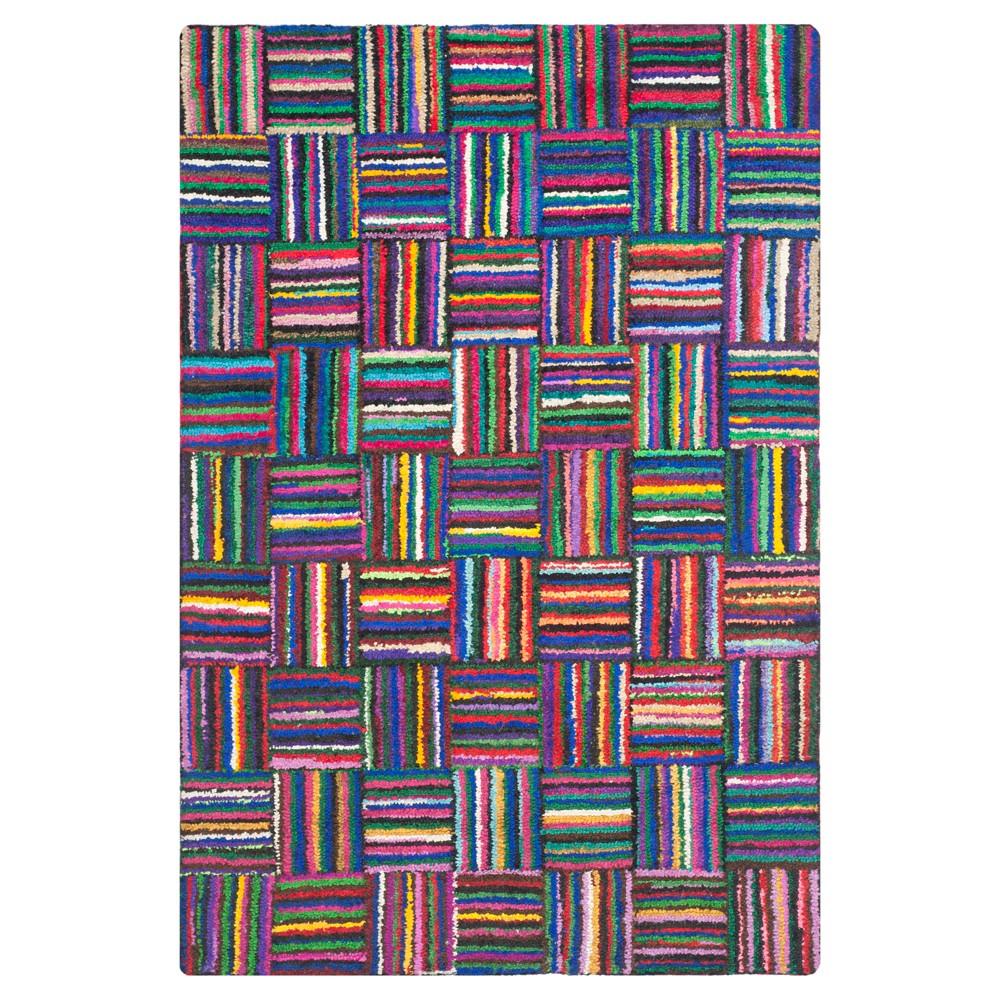 6'X9' Burst Area Rug - Safavieh, Multicolored