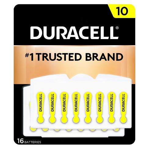 Duracell Hearing Aid Size 10 - 16 Pack - image 1 of 3