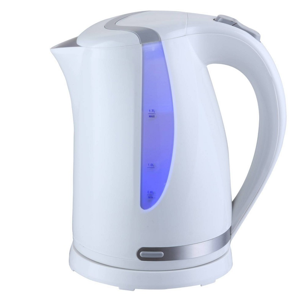 Image of MegaChef 1.7L Electric Tea Kettle - White