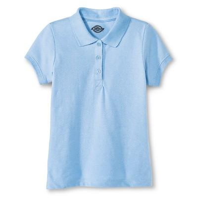 Dickies Little Girls' Pique Uniform Polo Shirt