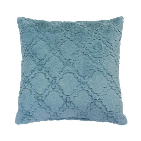 Mia Lattice Pillow Decorative Throw