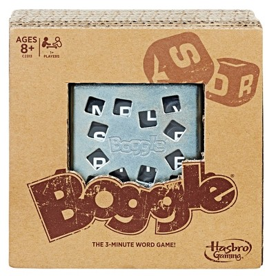Boggle Game: Rustic Series Edition