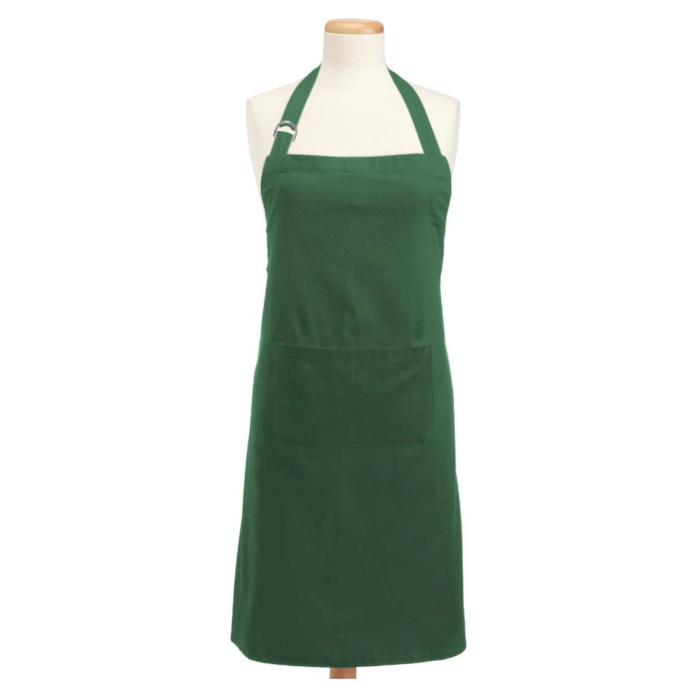 Chino Chef Apron - Design Imports, Dark Green