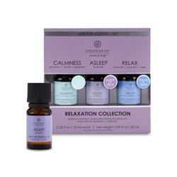 3pk Essential Oils Calmness/Asleep/Relax - Chesapeake Bay Candle