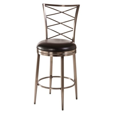 Harlow Swivel Barstool Metal - Hillsdale Furniture