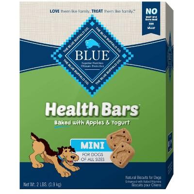 Blue Buffalo Mini Bar Apple & Yogurt Dog Treats - 2lb
