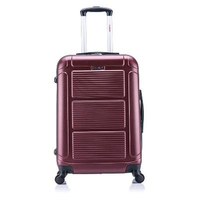 InUSA Pilot 24  Hardside Spinner Suitcase - Wine