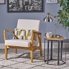 Perseus Mid Century Modern Club Chair - Christopher Knight Home - image 2 of 4