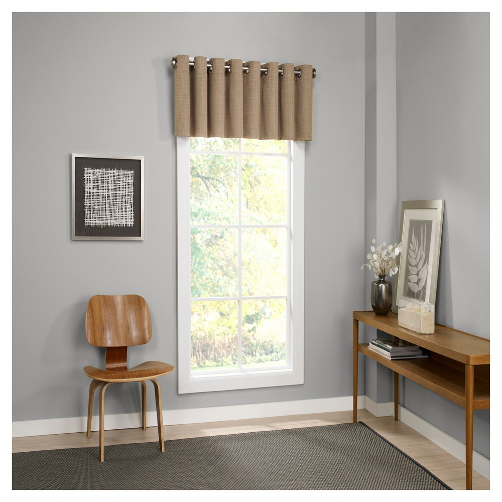 Palisade Thermalined Window Valance Tan (52
