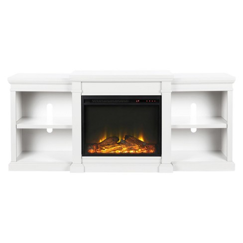 Union Electric Fireplace Tv Stand For Tvs Up To 70 White Room