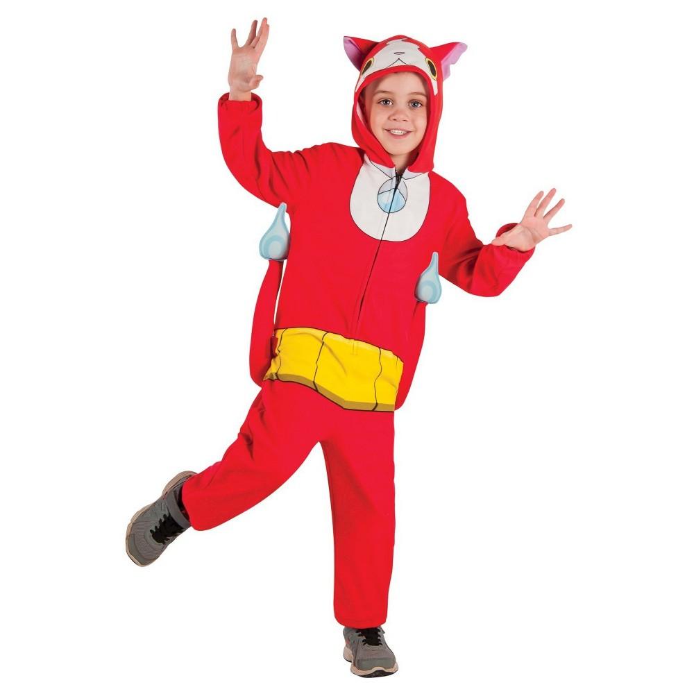 Kids' Yo Kai Watch Jibanyan Costume L(12-14), Kids Unisex, Multicolored