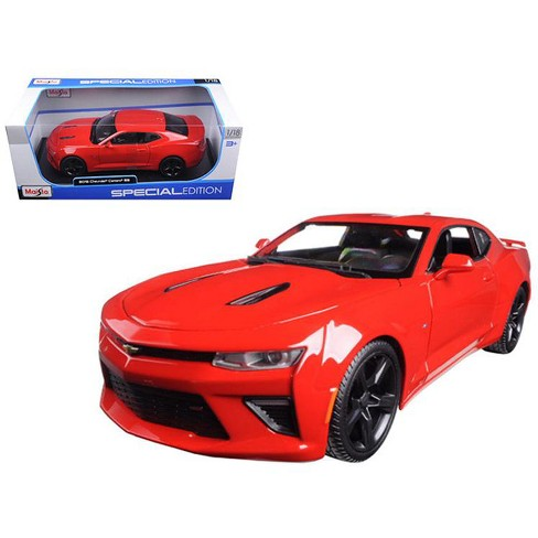 2016 Chevrolet Camaro SS Red 1/18 Diecast Model Car by Maisto - image 1 of 1