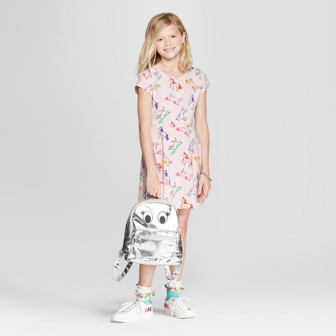 c675fb22f98 Girls  Short Sleeve Unicorn Dress - Cat   Jack™ Light Pink. Shop all Cat    Jack